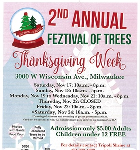 Tripoli Shrine 2nd Annual Feztival of Trees
